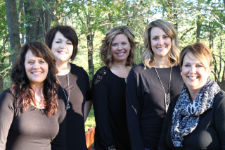 (L to R) Deborah, Abby, Amy, Julie, and Cathy